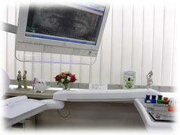 診療室イスからの写真